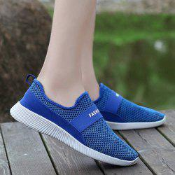 Elastic Band Mesh Casual Shoes