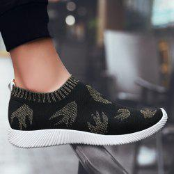 Slip On Mesh Chaussures Casual - Or