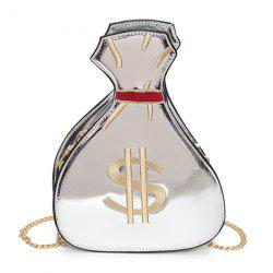Funny Money Sack Shaped Crossbody Bag