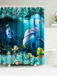 Sea World Nautical Bathroom Shower Curtains