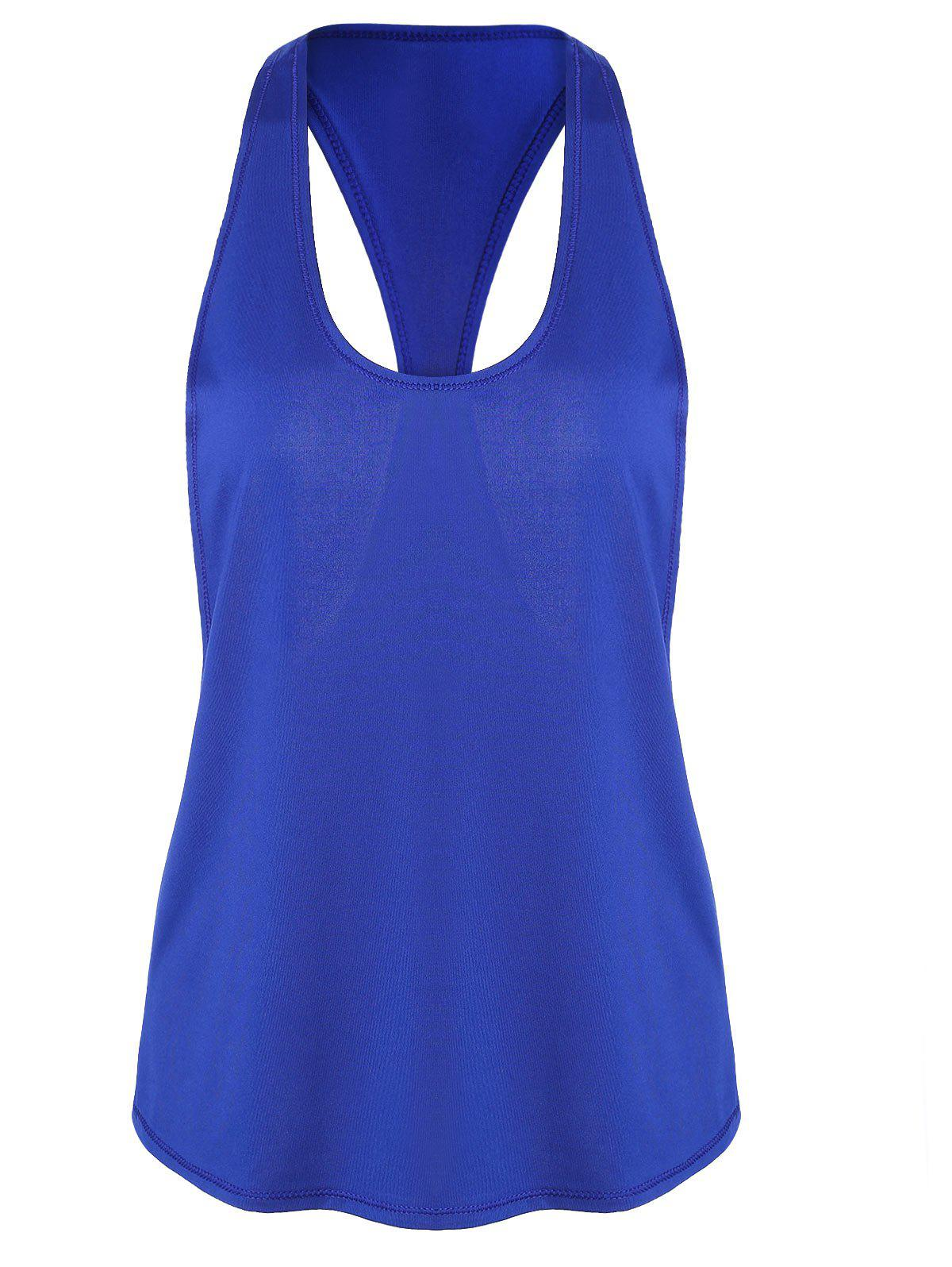 Online Racerback Workout Athletic Running Tank Top