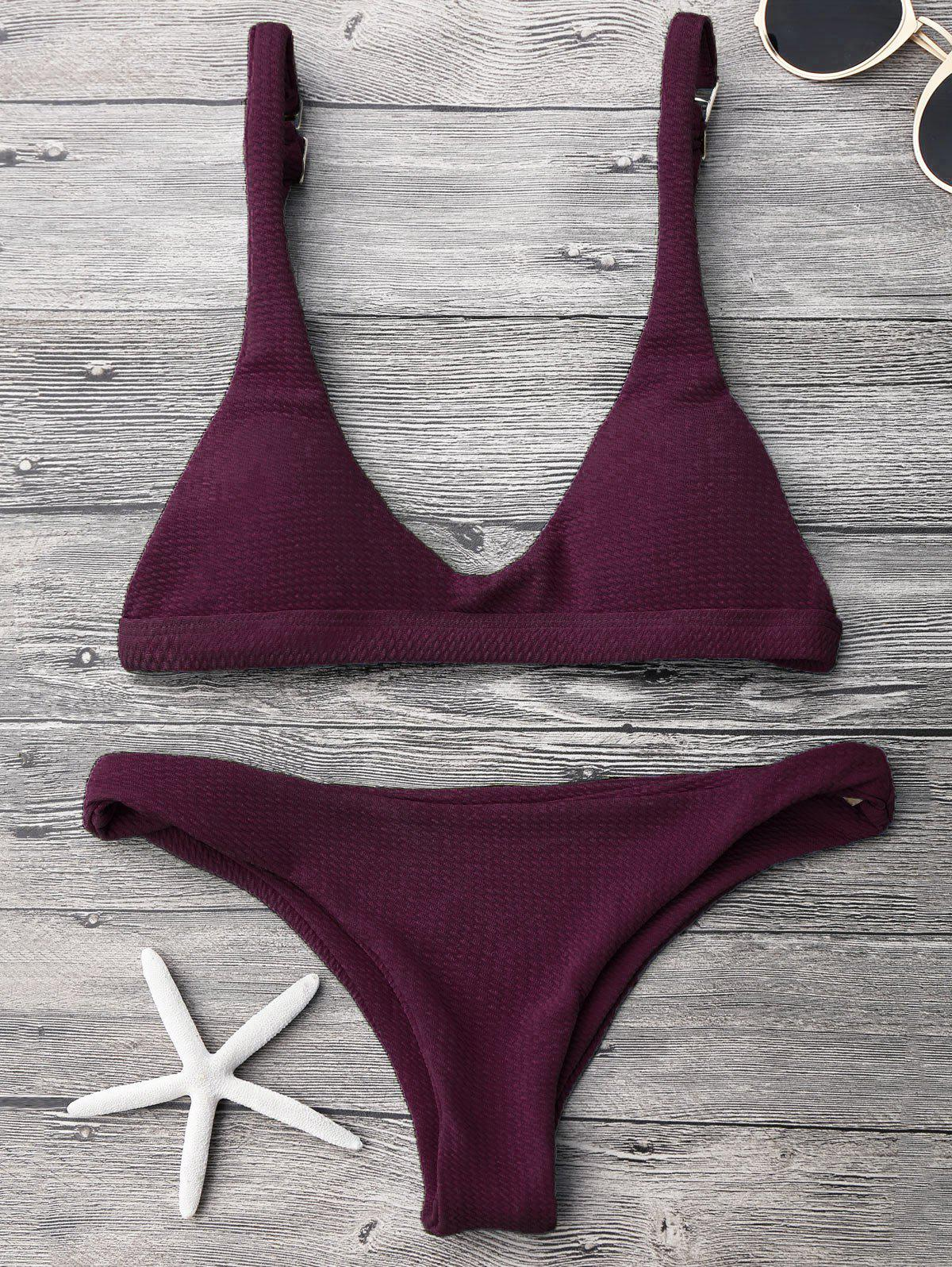 Outfit Padded Scoop Neck Bikini Set