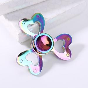 Colorful Clover Shaped Stress Reducer Finger Gyro - COLORFUL 6*6CM