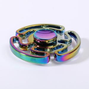 Colorful Hollow Out Focus Spinner Metal Finger Gyro -