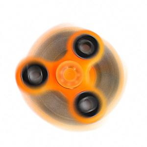 Glow in the dark Plastic Focus Toy Fidget Spinner - ORANGE