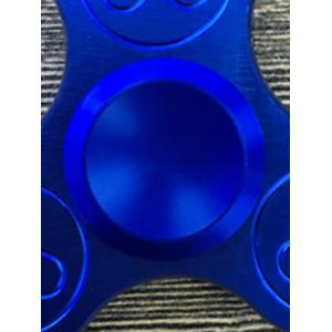 Stress Relief Focus Toys Triangle Fidget Spinner - BLUE