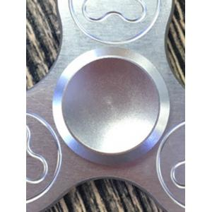 Stress Relief Focus Toys Triangle Fidget Spinner - SILVER