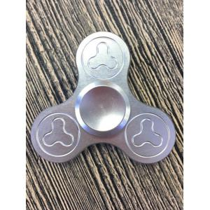 Stress Relief Focus Toys Triangle Fidget Spinner - Silver - 6.5*6.5*1.7cm