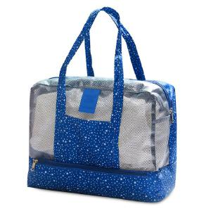 Multifunctional Print Mesh Panel Bag
