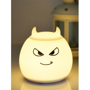 Color Change Silica Gel LED Cartoon Charging Night Light