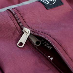Foldable Waterproof Nylon Carryall Bag - WINE RED