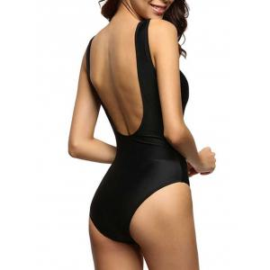 Backless One Piece Swimwear