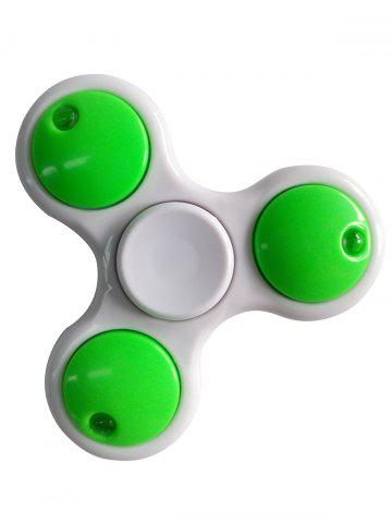 LED Light Rotating Tirangle Fidget Spinner