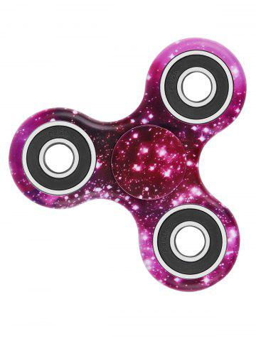 Focus Toy Stress Relief Star Sky Print Fidget Spinner - Amethyst