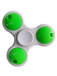 LED Light Rotating Tirangle Fidget Spinner -