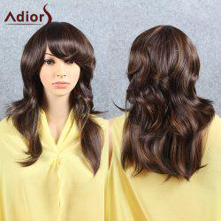Adiors Long Tail Upwards Inclined Bang Synthetic Hair