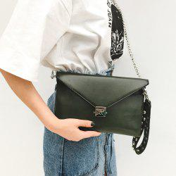Envelope Studded Wristlet Clutch Bag