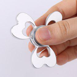 Clover Shaped Fidget EDC Toy Alloy Finger Gyro