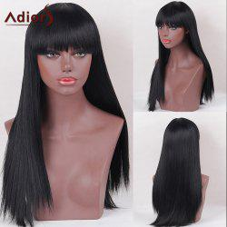 Adiors Full Bang Silky Thick Long Straight Synthetic Wig