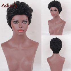 Adiors Layered Shaggy Natural Straight Short Synthetic Wig
