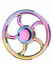 Wheel Fingertip Spinning Top Finger Gyro Focus Toys Stress Reliever - COLORFUL