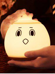 Cartoon LED Color Changing Silica Gel Night Light