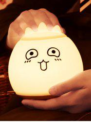 Cartoon LED Color Change Silica Gel Night Light