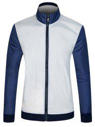 Color Block Sun Protective Jacket
