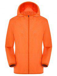 Hooded Zip Up Sun Protective Anti UV Lightweight Jacket