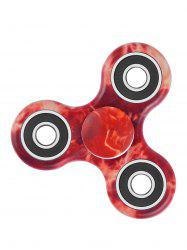 Focus Toy Stress Relief Star Sky Print Fidget Spinner - RED