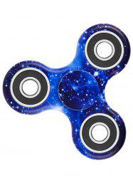 Focus Toy Stress Relief Star Sky Print Fidget Spinner - Bleu Foncé