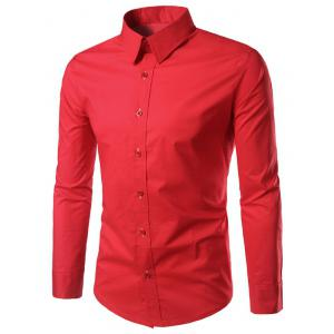 Long Sleeves Button Up Shirt