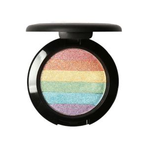 Shimmer Soft Mineral Rainbow Palette Highlighter Powder - COLORFUL