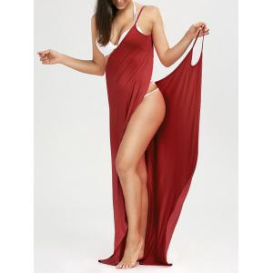 Beach Maxi Wrap Cover Up Long Slip Dress
