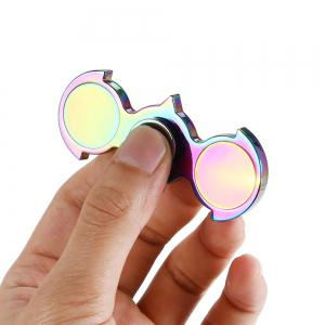 Fidget Toy Anti-stress EDC Bat Hand Spinner - COLORFUL 7.8*3.2CM