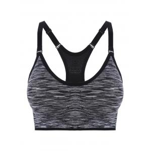 Padded Strappy Racerback Sports Bra