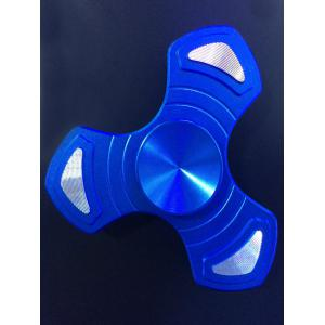 Triangle Gyro Arrow Focus Toy EDC Fidget Spinner - Blue - 6.5*6.5*1.7cm