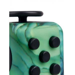Novelty Faux Jade Fidget Toy Stress Relief Rubik's Cube -