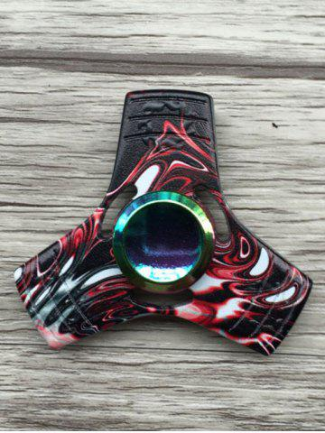 Fancy Stress Relief Toy Colorful Triangle Fidget Spinner COLORMIX