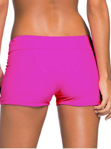 Outfit Mid-Waist Boyleg Shorts - L ROSE MADDER Mobile