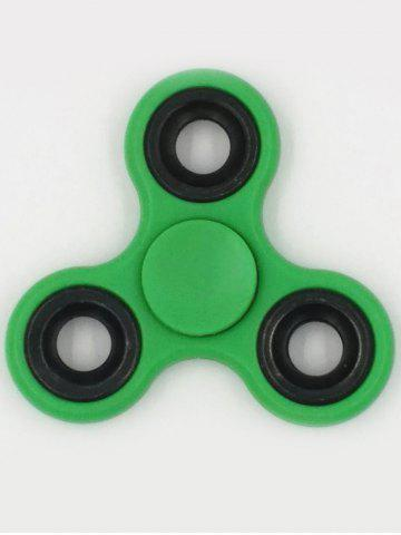 Outfit Anti-Stress Toys Rotating Triangle Fidget Spinner GREEN
