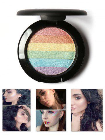 Latest Shimmer Soft Mineral Rainbow Palette Highlighter Powder - COLORFUL  Mobile