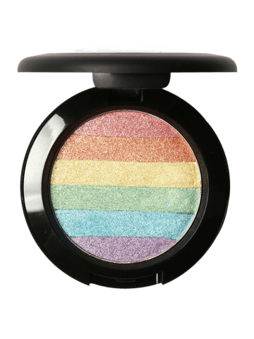 Outfits Shimmer Soft Mineral Rainbow Palette Highlighter Powder - COLORFUL  Mobile