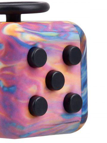 New Novelty EDC Toy Stress Relief Fidget Magic Cube - PINK  Mobile