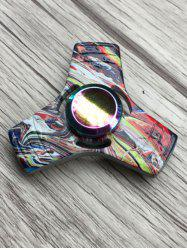 Stress Relief Toy Colorful Triangle Fidget Spinner -