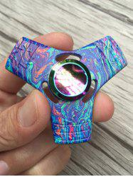 Stress Relief Toy Colorful Triangle Fidget Spinner - BLUE