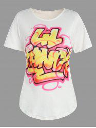 Letters Spray Painting Top