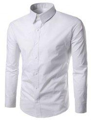 Long Sleeves Formal Plain Shirt