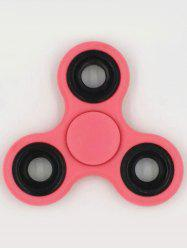 Anti-Stress Toys Rotating Triangle Fidget Spinner - PINK