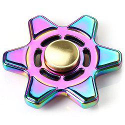 Colorful Fidget Focus Toy Metal Finger Spinner